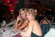 LADY VICTORIA HERVEY; ASSIA WEBSTER, Evgeny Lebedev and Graydon Carter hosted the Raisa Gorbachev charity Foundation Gala, Stud House, Hampton Court, London. 22 September 2011. <br /> <br />  , -DO NOT ARCHIVE-© Copyright Photograph by Dafydd Jones. 248 Clapham Rd. London SW9 0PZ. Tel 0207 820 0771. www.dafjones.com.