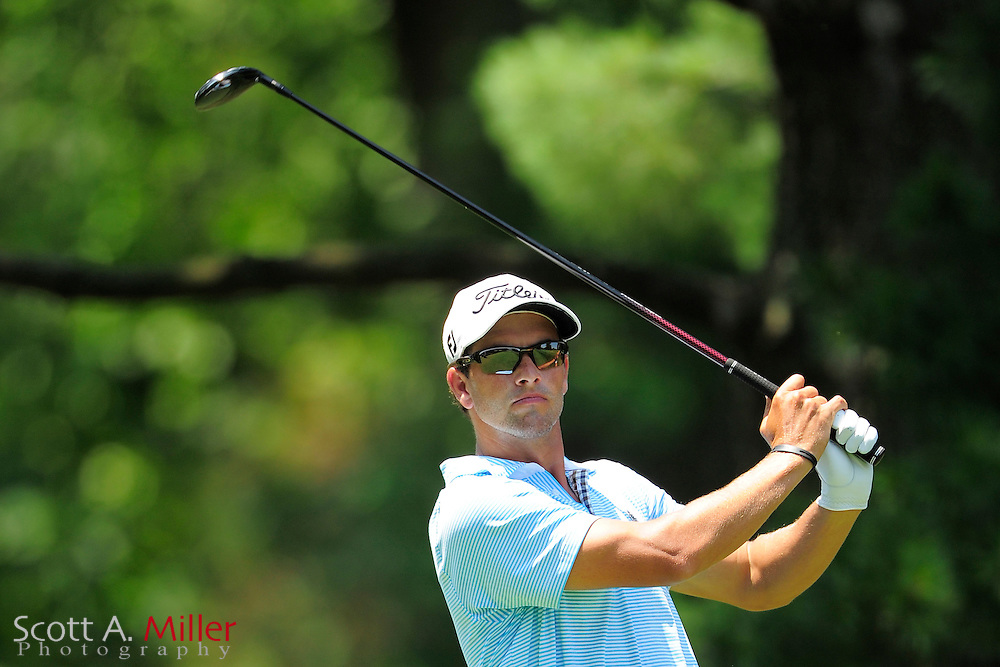 Adam Scott during the third round of the AT&T National at Congressional Country Club on June 30, 2012 in Bethesda, Maryland. ..©2012 Scott A. Miller