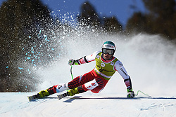 March 14, 2019 - ANDORRA - Vincent Kriechmayr (AUT) during Men's Super Giant of Audi FIS Ski World Cup Finals 18/19 on March 14, 2019 in Grandvalira Soldeu/El Tarter, Andorra. (Credit Image: © AFP7 via ZUMA Wire)