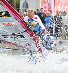 30.04.2011, Strandbad Podersdorf am See, Burgenland, AUT, Surfworldcup, im Bild Antony Champers (UK) // during surfworldcup at podersdorf, AUT, burgendland, lido podersdorf, 04-30-2011,  EXPA Pictures © 2011, PhotoCredit: EXPA/ M. Gruber