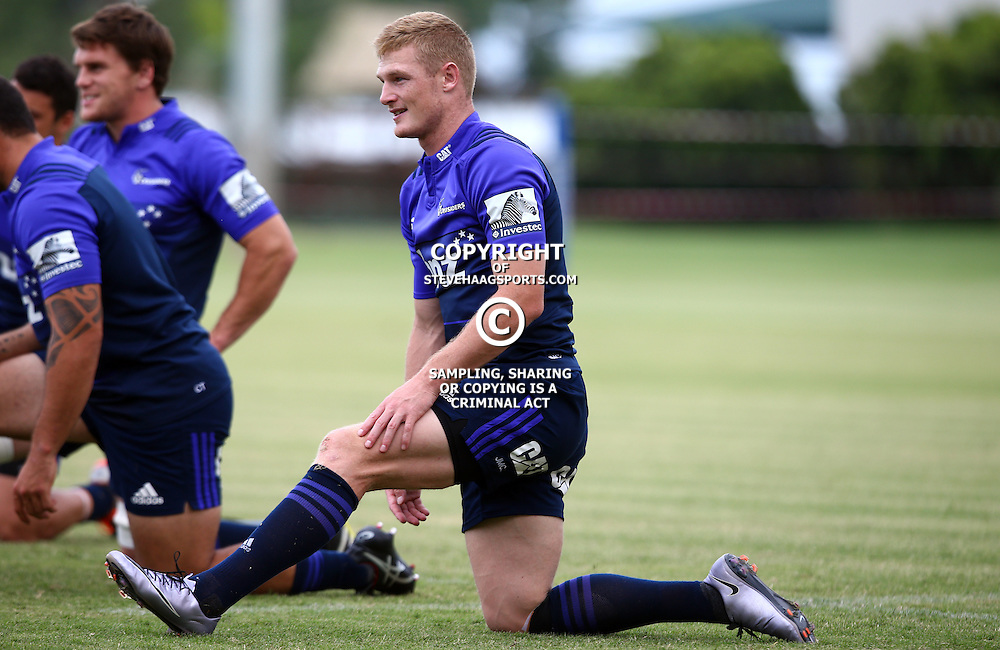 DURBAN, SOUTH AFRICA, 24,MARCH, 2016 - Johnny McNicholl of the BNZ Crusaders during The Crusaders training session  at Northwood School Durban North in Durban and the Crusaders Media conference, South Africa. (Photo by Steve Haag)<br /> <br /> images for social media must have consent from Steve Haag