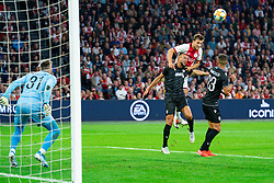 13-08-2019 NED: UEFA Champions League AFC Ajax - Paok Saloniki, Amsterdam<br />  Ajax won 3-2 and they will meet APOEL in the battle for a group stage spot / Joël Veltman #3 of Ajax