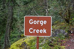 Gorge Creek, North Cascades National Park, Washington, US