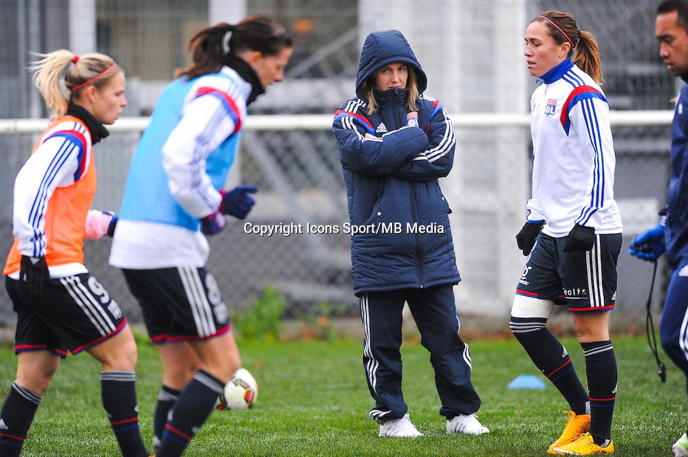 Sonia BOMPASTOR  - 03.12.2014 - Saint Etienne / Lyon - 11eme journee de Division 1<br /> Photo : Thomas Pictures / Icon Sport