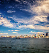 A View of Seattle from Salty's on Alki Beach