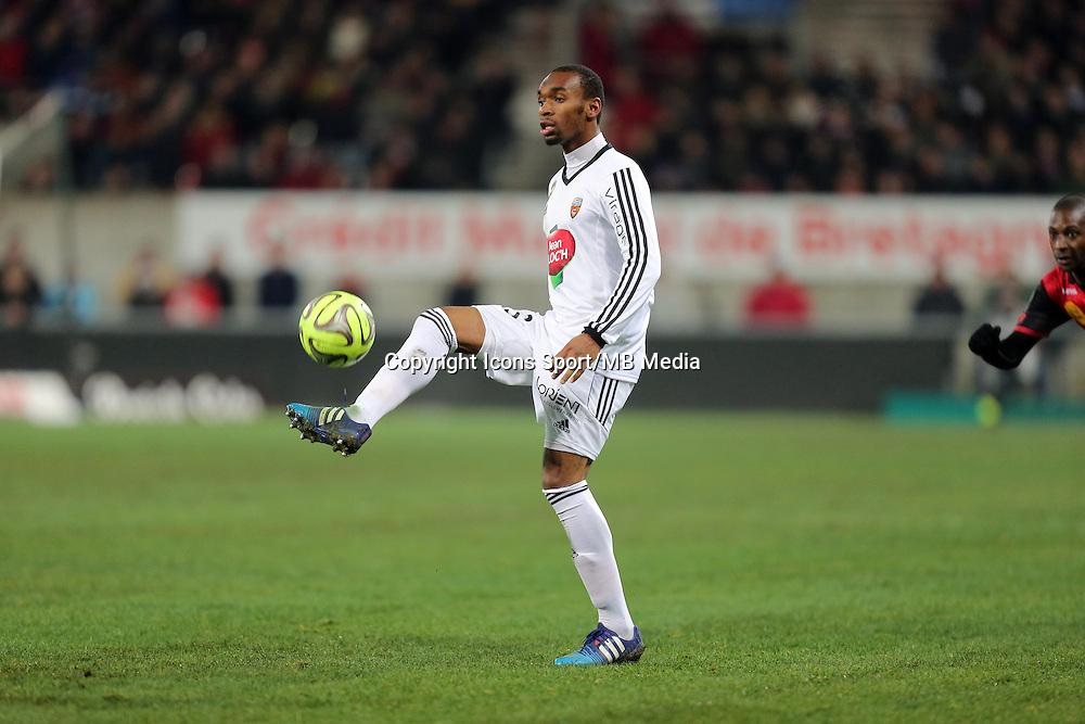 Raffidine ABDULLAH  - 24.01.2015 - Guingamp / Lorient - 22eme journee de Ligue1<br />Photo : Vincent Michel / Icon Sport *** Local Caption ***