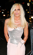 Designer Donatella Versace attends The Whitney Museum of American Art's Gala and Studio Dinner in New York City on October 19, 2009.