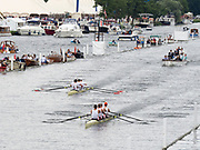 Henley Royal Regatta, Henley on Thames, Oxfordshire, 28 June - 2 July 2017.  Saturday  12:07:33   01/07/2017  [Mandatory Credit/Intersport Images]<br /> <br /> Rowing, Henley Reach, Henley Royal Regatta.<br /> <br /> The Visitors' Challenge Cup<br />  Leander Club v  California Rowing Club, U.S.A.