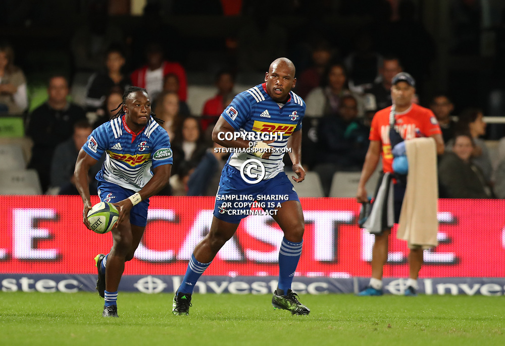 DURBAN, SOUTH AFRICA - MAY 27: Seabelo Senatla of the DHL Stormers during the Super Rugby match between Cell C Sharks and DHL Stormers at Growthpoint Kings Park on May 27, 2017 in Durban, South Africa. (Photo by Steve Haag/Gallo Images)