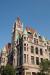 Minnesota, Twin Cities, Minneapolis-Saint Paul: The Landmark Building in downtown St Paul, by Rice Park.  This former Federal Building now hosts arts organizations..Photo mnqual294-75284..Photo copyright Lee Foster, www.fostertravel.com, 510-549-2202, lee@fostertravel.com.