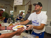 Jewish Food Festival at Temple B'nai in Laconia,   Karen Bobotas for the Laconia Daily Sun