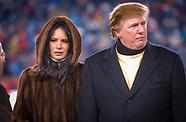 Donald Trump at Patriots game 1/10/2004