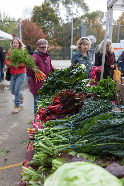 Dufferin Grove Organic Farmers Market is open year round.