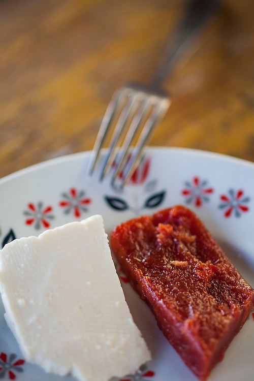 Belo Horizonte_MG, Brasil.<br /> <br /> Detalhe de queijo com goiabada.<br /> <br /> Detail of cheese with guava.<br /> <br /> Foto: BRUNO MAGALHAES / NITRO