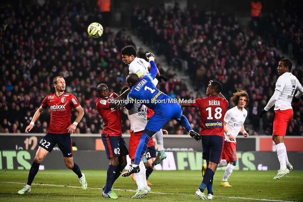 Thiago SILVA - 03.12.2014 - Lille / Paris Saint Germain - 16eme journee de Ligue 1<br />