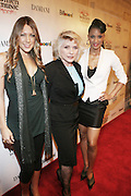 l to r: Colbie Calliatt, Debbie Harry, and Ciara at the Billboard's 3rd Annual Women in Music Breakfast held at St. Regis Hotel held on October 24, 2008..The Women in Breakfast was established to recognize extraordinary women in the music industry whii have made significant contributions to the business and who, through their hard work and continued success, inspire generations of women to take on increasing responsibilities within the field.