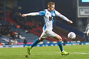 Blackburn Rovers midfielder Lewis Holtby in action during the EFL Sky Bet Championship match between Blackburn Rovers and Birmingham City at Ewood Park, Blackburn, England on 26 December 2019.