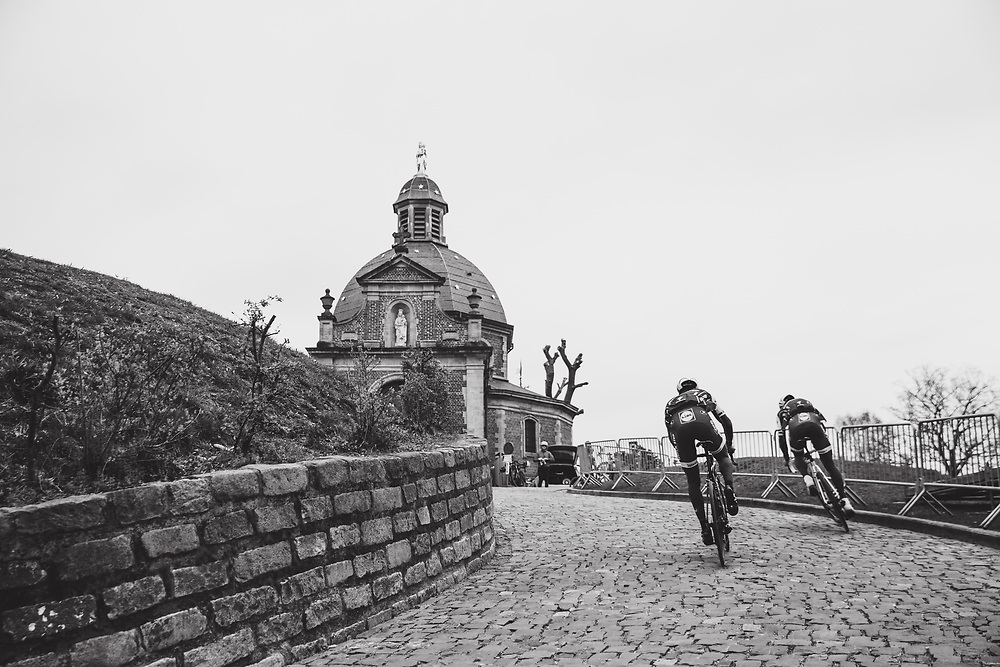 Tom Boonen and the Quick-Step Floors team train on the parcours ahead of the Ronde van Vlaanderen. Photo: Iri Greco / BrakeThrough Media | www.brakethroughmedia.com