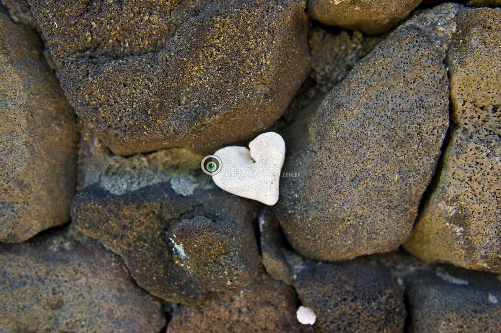 Rocha vulcanica, uma rocha ignea de origem vulcanica. Um tipo de rocha que se forma por arrefecimento do magma a superficie. As rochas vulcanicas sao de textura afanitica, o que significa que possuem cristais de dimensao microscopica, por isso, indistinguiveis a olho nu. A pequena dimensao dos seus cristais deve-se ao arrefecimento abrupto, que nao permite o pleno desenvolvimento cristalino. Este arrefecimento abrupto ocorre devido a enorme diferenca de temperaturas entre o ambiente superficial e o ambiente da intrusao magmatica./ Volcanic rock is an igneous rock of volcanic origin. Like all rock types, the concept of volcanic rock is artificial, and in nature volcanic rocks grade into hypabyssal and metamorphic rocks and constitute an important element of some sediments and sedimentary rocks. For these reasons, in geology, volcanics and shallow hypabyssal rocks are not always treated as distinct.