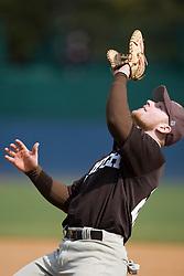 Lehigh infielder Jim McConlogue. The #17 ranked Virginia Cavaliers baseball team defeated the Lehigh Mountain Hawks 12-1 at the University of Virginia's Davenport Field in Charlottesville, VA on February 24, 2008.