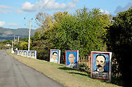Revolutionary signs in Guantanamo, Cuba.