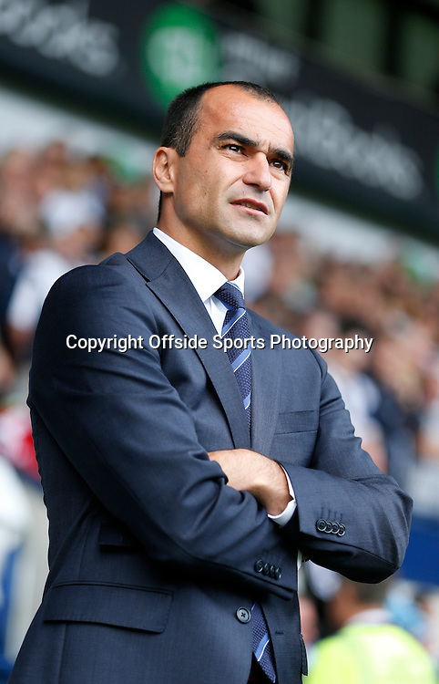 13 September 2014 - Barclays Premier League - West Brom v Everton - Everton's manager Roberto Martinez  - Photo: Paul Roberts / Offside.