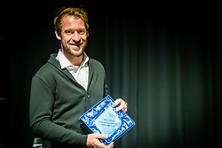Grega Zemlja during Slovenian Tennis personality of the year 2017 annual awards presented by Slovene Tennis Association Tenis Slovenija, on November 29, 2017 in Siti Teater, Ljubljana, Slovenia. Photo by Vid Ponikvar / Sportida