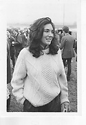 Ghislaine Maxwell. Bullingdon Point to Point. 1984 *** Local Caption *** -DO NOT ARCHIVE-? Copyright Photograph by Dafydd Jones 66 Stockwell Park Rd. London SW9 0DA Tel 020 7733 0108 www.dafjones.com