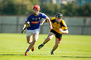 02/10/2016, IHC Semi Final at Trim.<br /> Ratoath vs Na Fianna<br /> Padraig O`Hanrahan (Ratoath) & Evan Mullally (Na Fianna)<br /> Photo: David Mullen /www.cyberimages.net / 2016<br /> ISO: 400; Shutter: 1/1250; Aperture: 4; <br /> File Size: 2.6MB<br /> Print Size: 8.6 x 5.8 inches