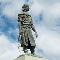 Estátua do Laçador, Porto Alegre, Rio Grande do Sul, Brasil, foto de Ze Paiva, Vista Imagens.