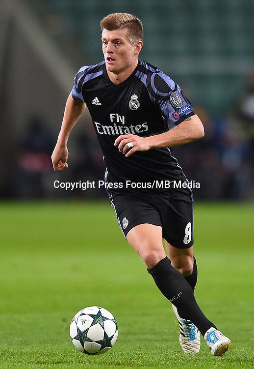 2016.11.02 Warszawa<br /> Pilka nozna Liga Mistrzow sezon 2016/2017<br /> Legia Warszawa - Real Madryt<br /> N/z Toni Kroos<br /> Foto Lukasz Laskowski / PressFocus<br /> <br /> 2016.11.02 Warsaw<br /> Football Champions League season 2016/2017<br /> Legia Warsaw - Real Madrid<br /> Toni Kroos<br /> Credit: Lukasz Laskowski / PressFocus