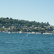 Lake Washington in Seattle.
