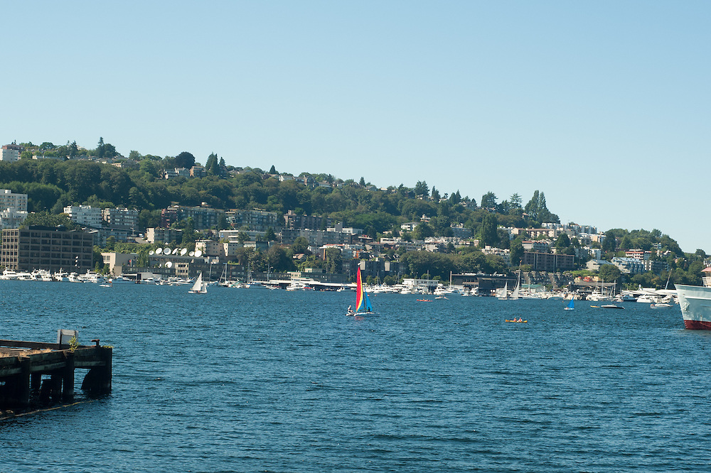 Lake Washington in Seattle.