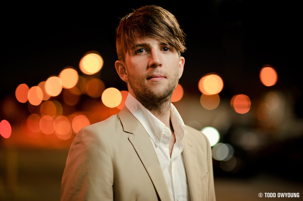 Owen Pallett, photographed outside the Pageant in St. Louis, Missouri on September 30, 2010.