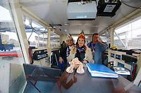 Mannheim. 10.02.18 | <br /> N&auml;rrische Bootsfahrt mit dem Mannheimer Stadtprinzenpaar Miriam I. und Marcus I. <br /> Danch kleiner Umzug mit Gefolge zum Mannheimer Marktplatz &uuml;ber die Planken zum Wasserturm mit Fahrt im Riesenrad.<br /> Bild: Markus Prosswitz 10FEB18 / masterpress (Bild ist honorarpflichtig - No Model Release!) <br /> BILD- ID 03921 |