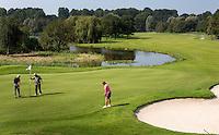 BERGSCHENHOEK - Hole 5 Golfbaan De Hooge Rotterdamsche . COPYRIGHT KOEN SUYK -