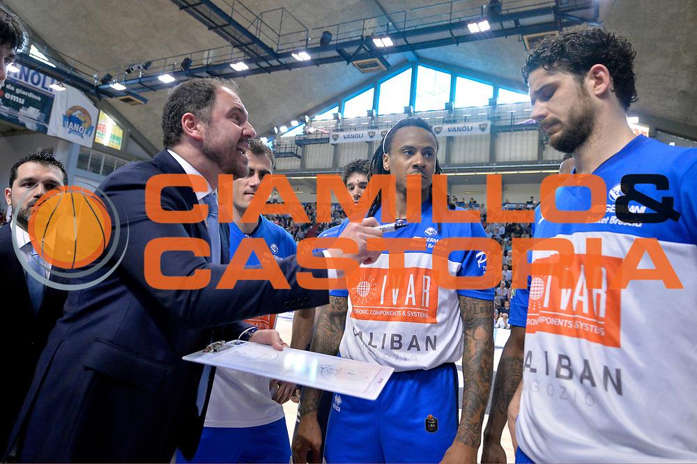 Andrea Diana<br /> Vanoli Cremona - Germani Basket Brescia Leonessa<br /> Lega Basket Serie A 2016/2017<br /> Cremona, 09/04/2017<br /> Foto M.Ceretti / Ciamillo - Castoria