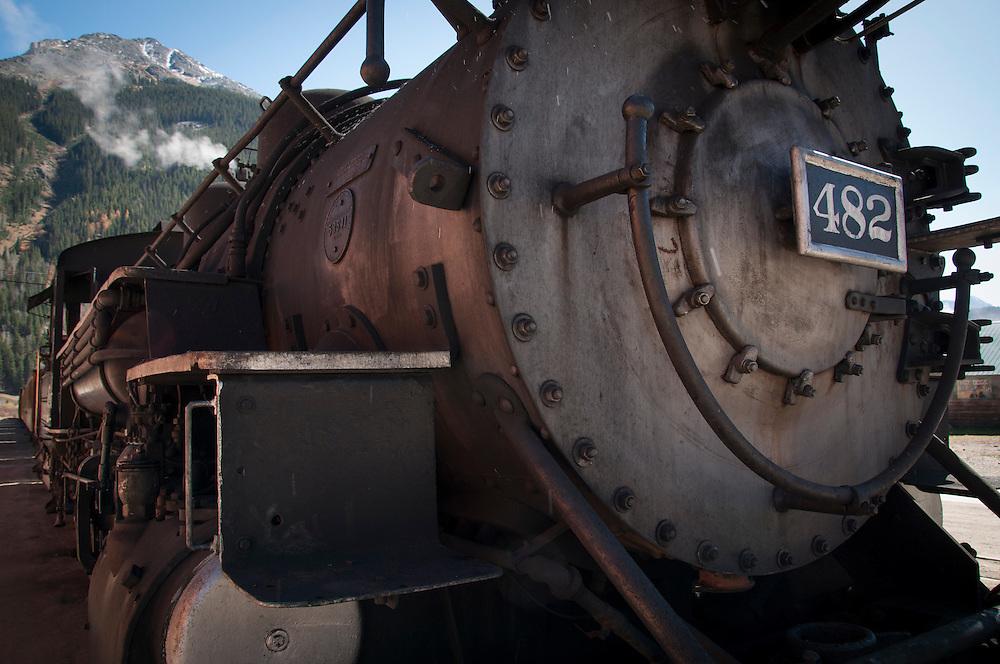 D&SRR Silverton Depot.