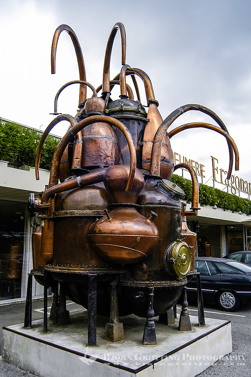 Fragonard perfume factory and museum. Grasse is the center of the French perfume industry and is known as the world's perfume capital