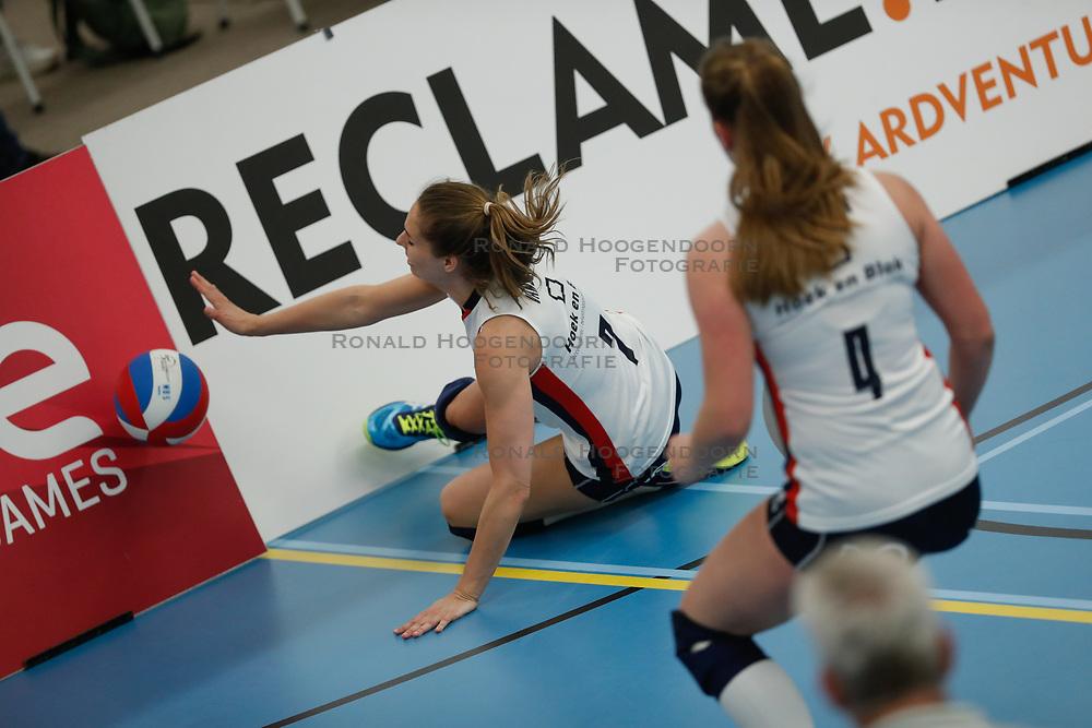 20190424 NED: Sliedrecht Sport - VC Sneek: Sliedrecht<br /> Esther van Berkel (7) of Sliedrecht Sport <br /> ©2019-FotoHoogendoorn.nl / Pim Waslander