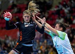 30-11-2019 JAP: Netherlands - Slovenia, Kumamoto<br /> First day 24th IHF Womenís Handball World Championship, Netherlands lost the first match against Slovenia with 26 - 32. / Estavana Polman #79 of Netherlands