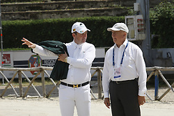 Hadley Stephan (IRL), O' Connor Cian (IRL)<br /> FEI NAtions Cup of Rome 2012<br /> © Hippo Foto - Beatrice Scudo