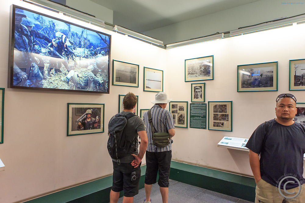 The Requiem photo exhibition at the War Remnants Museum, Ho Chi Minh City, Vietnam