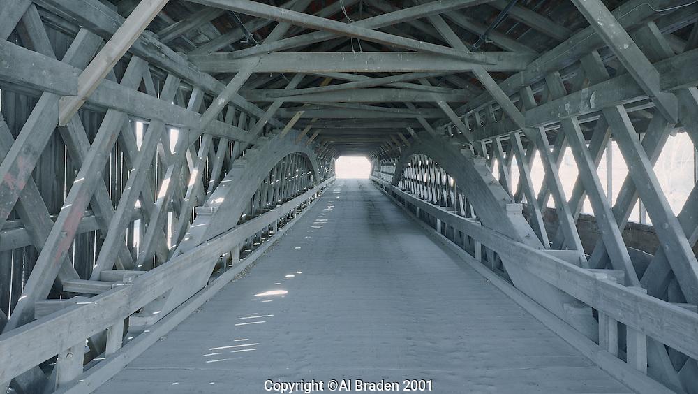 Bath-Haverill Bridge across the Ammonoosic River