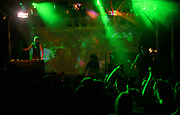 A DJ plays at a rave, Austrailia 1990s