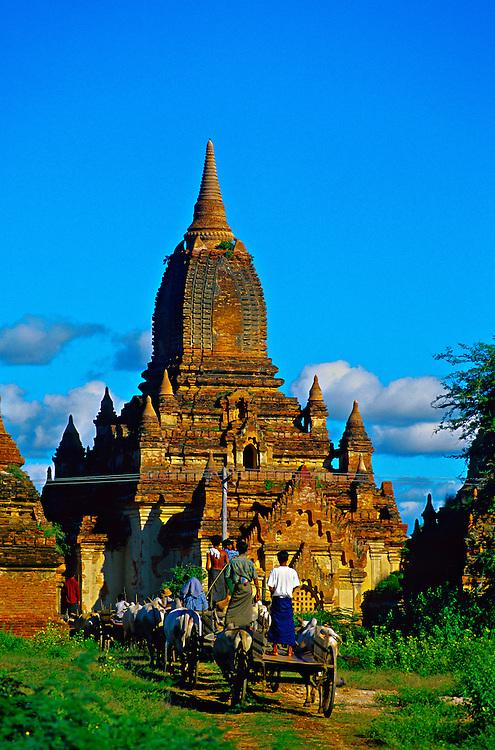 Mingalazedi Pagoda, Bagan (Pagan), Burma (Myanmar)