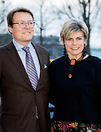 AMSTERDAM - Prince Constantijn and princess laurentien of the Netherlands presents the prize for the World Press Photo of the Year at the Westergasfabriek in Amsterdam on Thursday evening, April 12, 2018. Her Royal Highness Princess Laurentien is also present at the ceremony. Venezuelan photojournalist Ronaldo Schemidt poses with his World Press Photo award in in Amsterdam, Netherlands, April 12, 2018. ROBIN UTRECHT