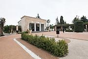 The Kiryat shaul cemetery in Tel Aviv