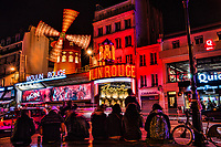 Le Moulin Rouge, Pigalle