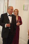 MARK WEISS; CATHERINE WEISS, Mark Weiss dinner, Nationaal Portrait Gallery. London. 15 October 2012.